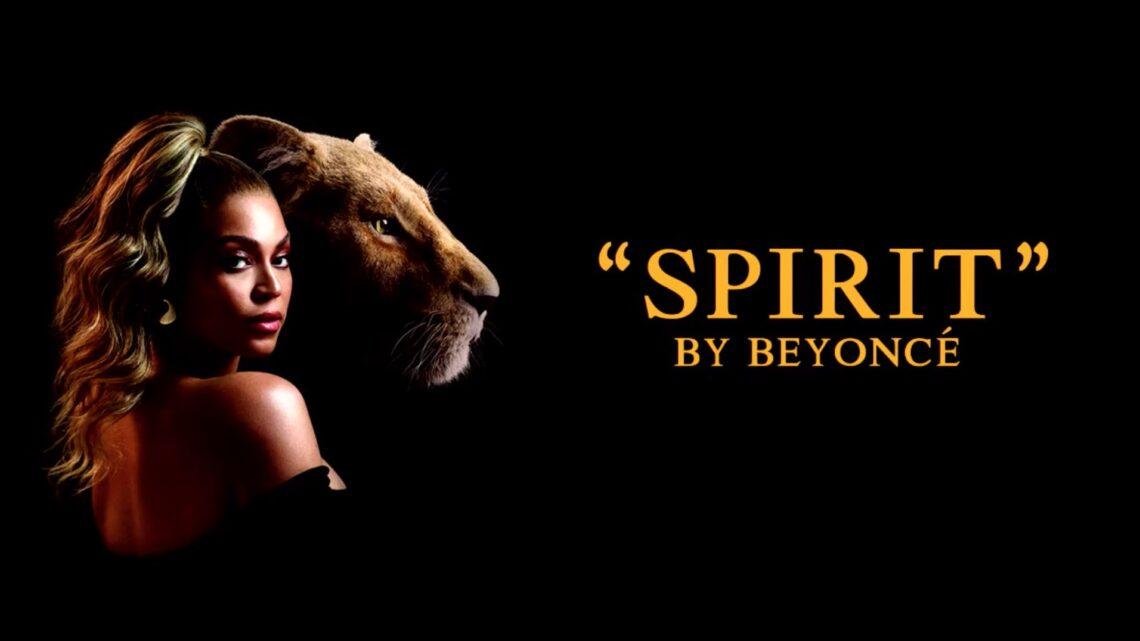 Beyoncè pubblica Spirit, colonna sonora de Il Re Leone